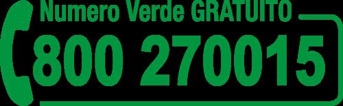 Numero Verde Gratuito 800270015